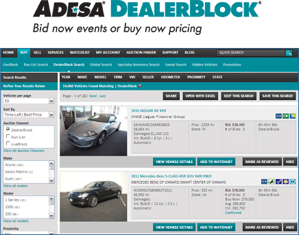 BidBuy DealerBlock Screenshot